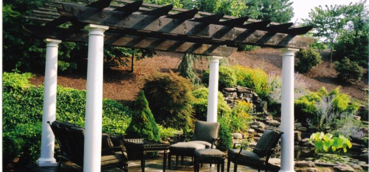 York County PA Pergola Custom Design Landscaping