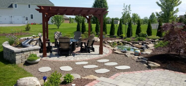 York County PA Hardscape Design Custom Patio