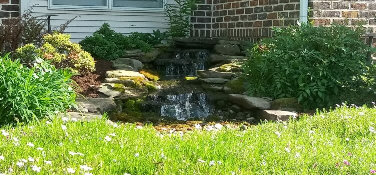 York County PA Endless Waterfall Landscaping