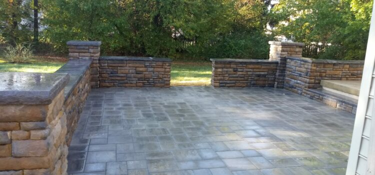 York County PA Patio Design and Retaining Wall